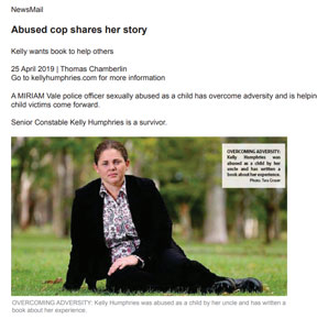 Abused cop shares her story