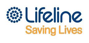 Lifeline saving lives logo