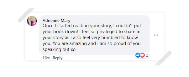 Adrienne Mary Testimonial
