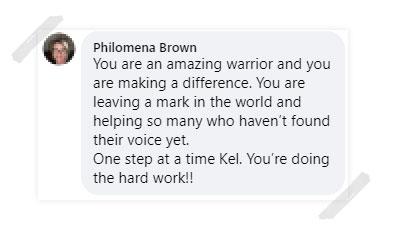Philomena Brown Testimonial