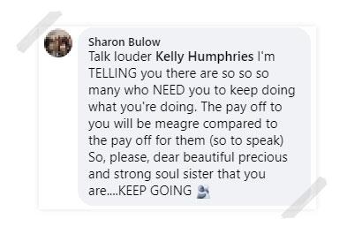 Sharon Bulow Testimonial
