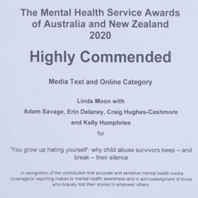 The Mental Health Service Awards of Australia and New Zealand