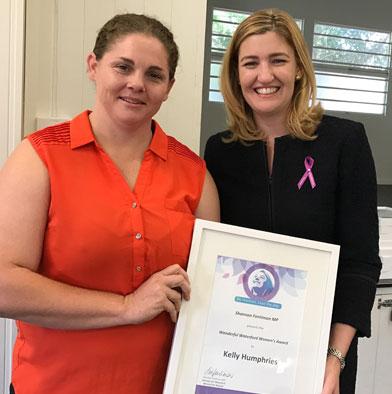 Kel Humphries Queensland Womens Week Award